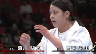 【新極真会】第50回全日本空手道選手権大会 準決勝・三位決定戦   SHINKYOKUSHINKAI KARATE