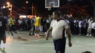 Kevin Durant Playing In The Watts League Basketball Game In Washington Dc 2013