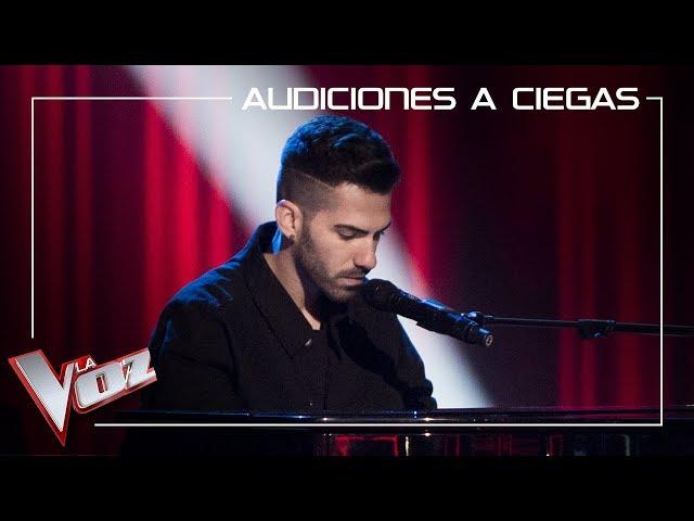 Aitor Martín canta Dark times | Audiciones a ciegas | La Voz Antena 3 2019