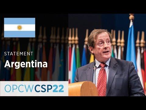 Argentina Statement by Mr Horacio Salvador at CSP-22
