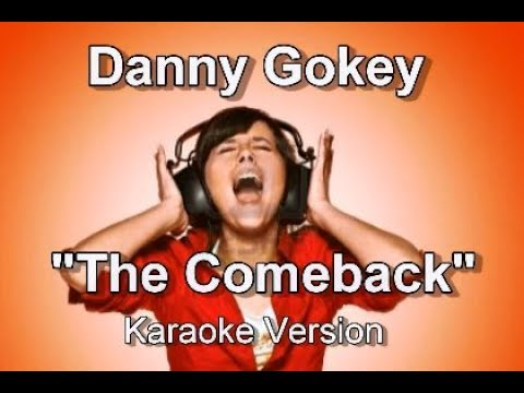 "Danny Gokey ""The Comeback"" Karaoke Version"