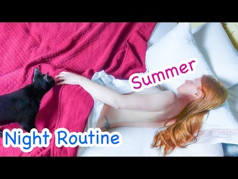 My Night Routine + Bedtime Yoga - Ruby Day