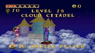 Magical Hoppers PS1 Japanese ePSXe 1.9.25 - LV15 Cloud Citadel as Clam (+)