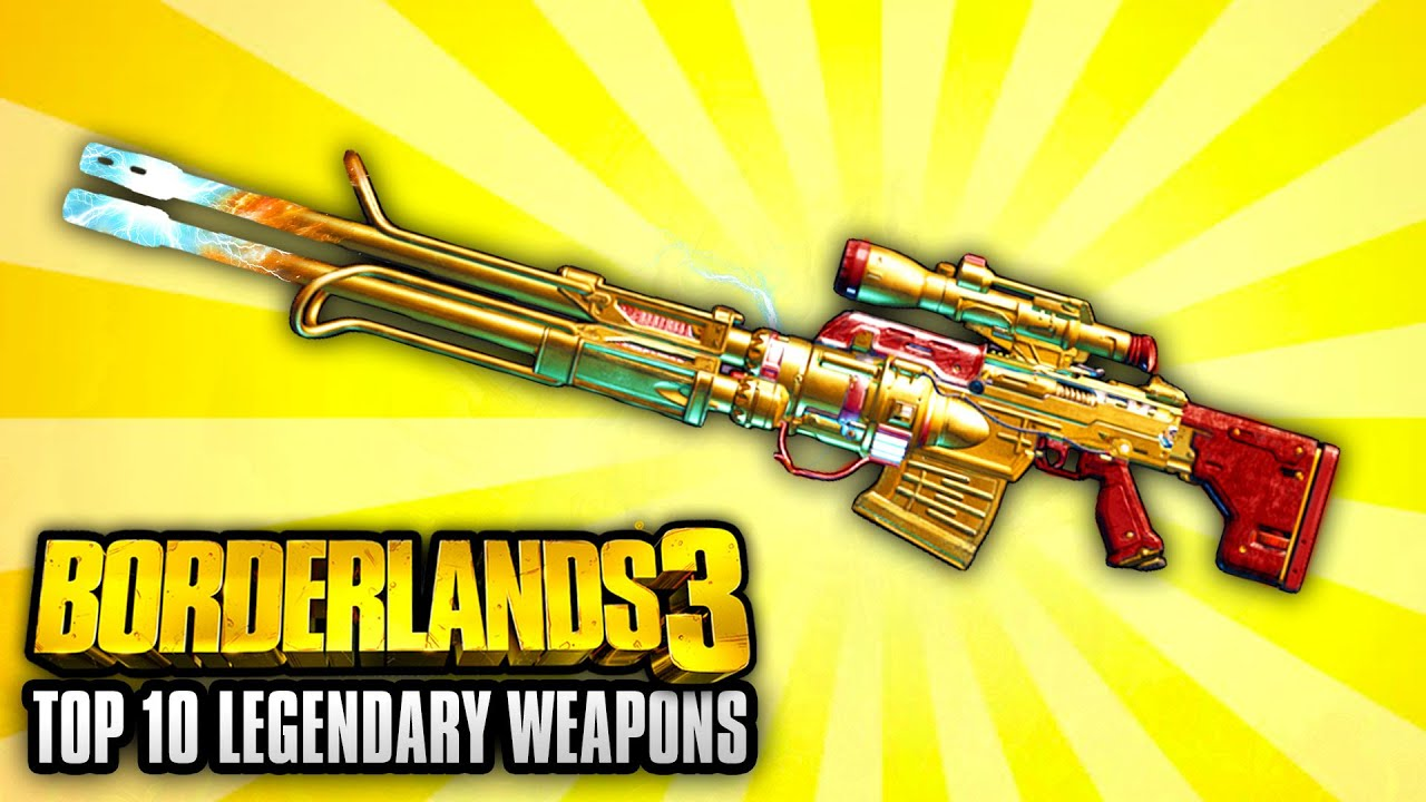 Borderlands 3 - Top 10 Legendary Weapons YOU NEED TO GET! thumbnail