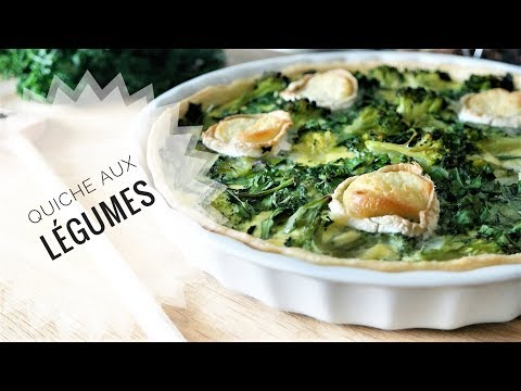 quiche-aux-brocolis-Épinards-chÈvre-facile