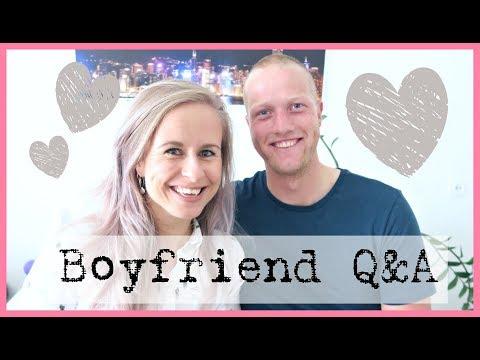 Boyfriend Q&A -
