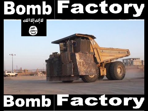 kurdish forces captured: ISIS & al-nusra's bomb factory - north Syria
