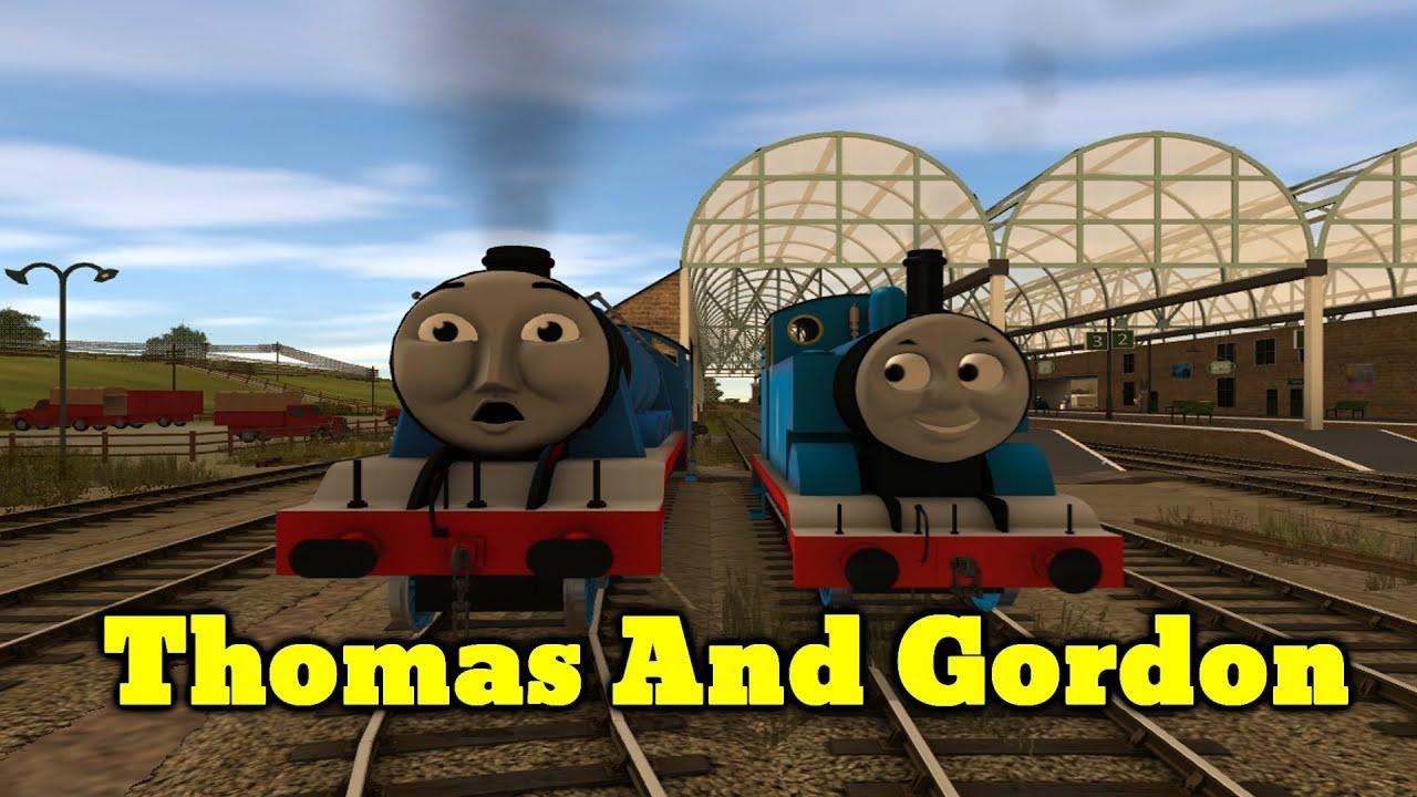 Thomas And Gordon - Trainz Remake