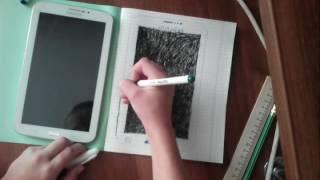 Как нарисовать планшет самсунг