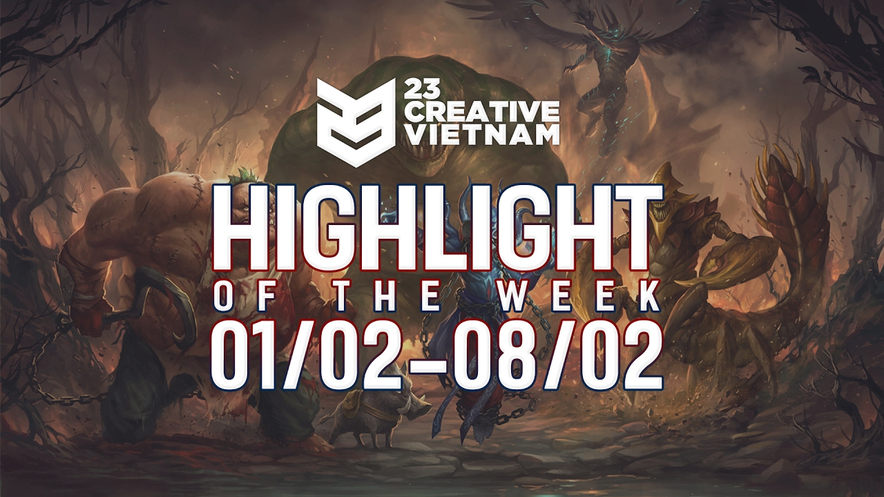23 Creative | Highlight of the week | 01/02 - 08/02/2017