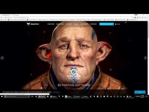 A Beginner's Guide to Substance Painter: 01 Basic Pipeline from 3ds Max to Painter