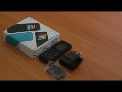 Видео обзор телефона Nokia 105 . Купить недорого.