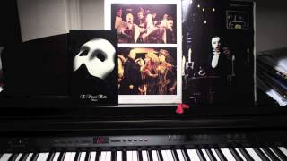 """Angel Of Music"" from Phantom Of The Opera - solo piano (HD)"