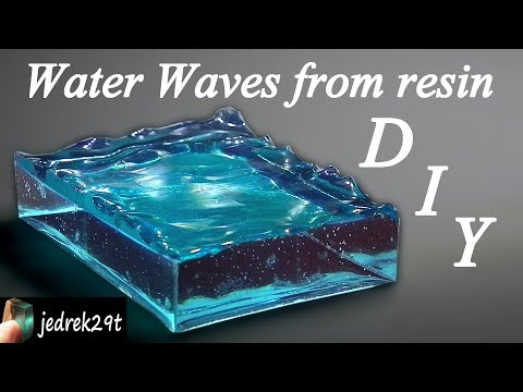 DIY. Water Waves from Resin