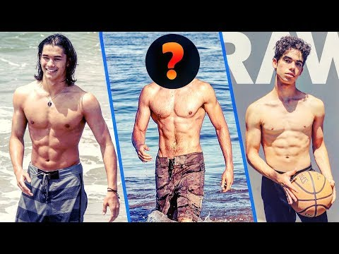 💪 DISNEY BOYS with SIX PACKS 🤸♂️ (plus Real Name and Age) 🔥