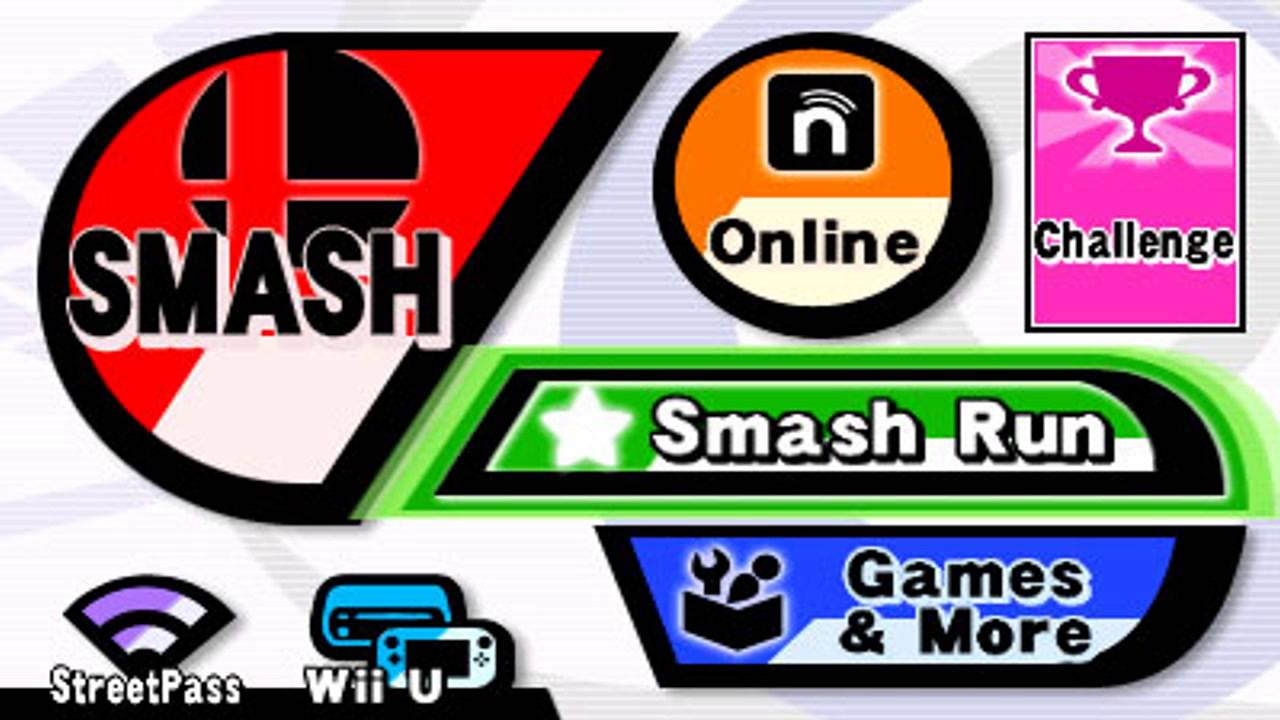 Super Smash Bros 3ds Menu Revealed Wii U Cross Play Included Youtube