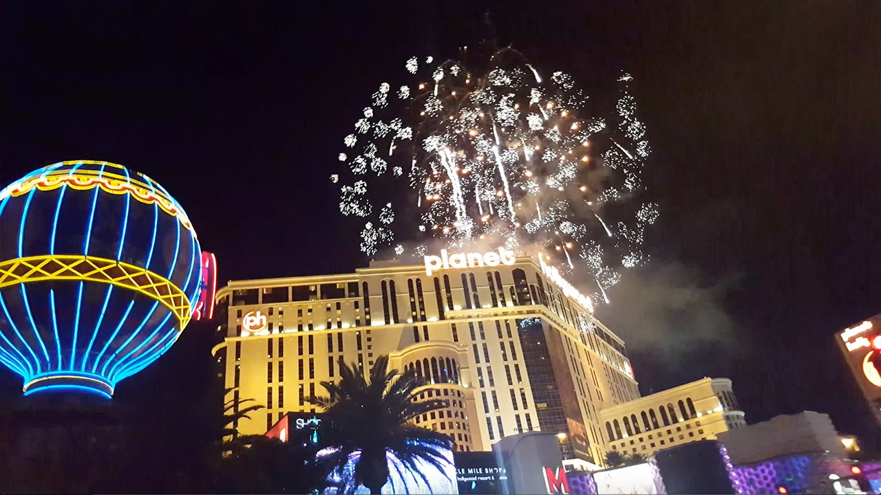 new year fireworks las vegas happy new year 2016 youtube