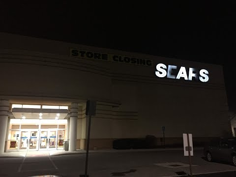 Store Tour Of The Former Sears Tuttle Crossing Mall Dublin Ohio