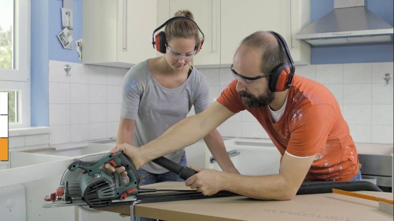hornbach meisterschmiede arbeitsplatte verbinden youtube. Black Bedroom Furniture Sets. Home Design Ideas
