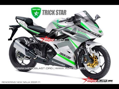 2017 Kawasaki Ninja250R Render - YouTube
