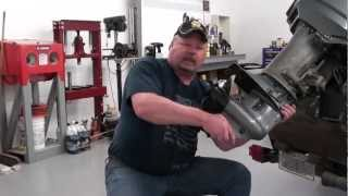 Pt.1 Suzuki DT25 Outboard Water Pump Service  At D-Ray's Shop