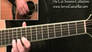 How to Play the Guitar Solo Cat Stevens Father and Son