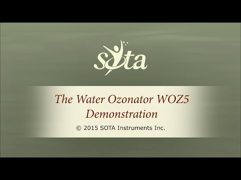 SOTA Water Ozonator - Model WOZ5 - Membrane Switch