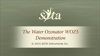 SOTA Water Ozonator - Model WOZ5 - Membrane Switch