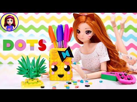 Build A Cute Kawaii Pineapple Pencil Holder - Lego DOTS Review