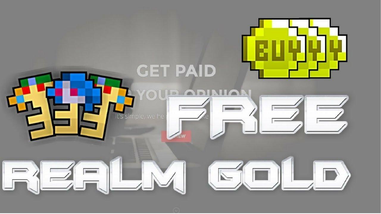 Rotmg Free Gold Exploit No Survey Hack