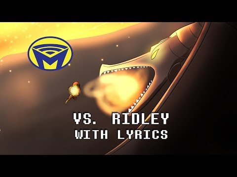 Metroid - Vs Ridley With Lyrics - By Man on the Internet