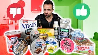 PROTEIN SNACKS aus dem Supermarkt - TOPS & FLOPS