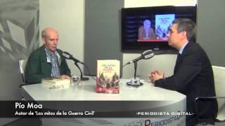 Pío Moa, autor de 'Los mitos de la Guerra Civil'. 9-4-2014