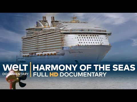 CRUISE SHIP Harmony Of The Seas - Leisure fun on the high se