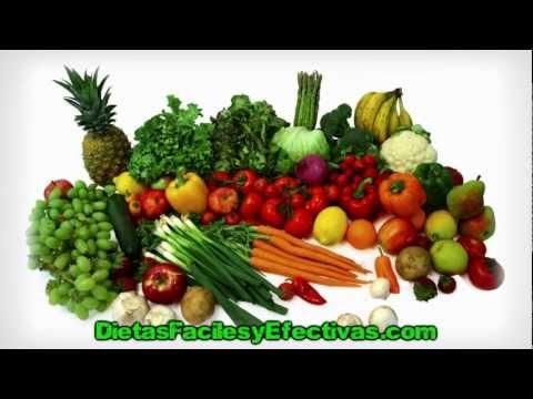 Dieta Para Bajar De Peso - Aprende a Adelgazar Comiendo [HD]