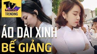 Nữ sinh Hà Nội xinh ngất ngây trong lễ bế giảng cuối cấp