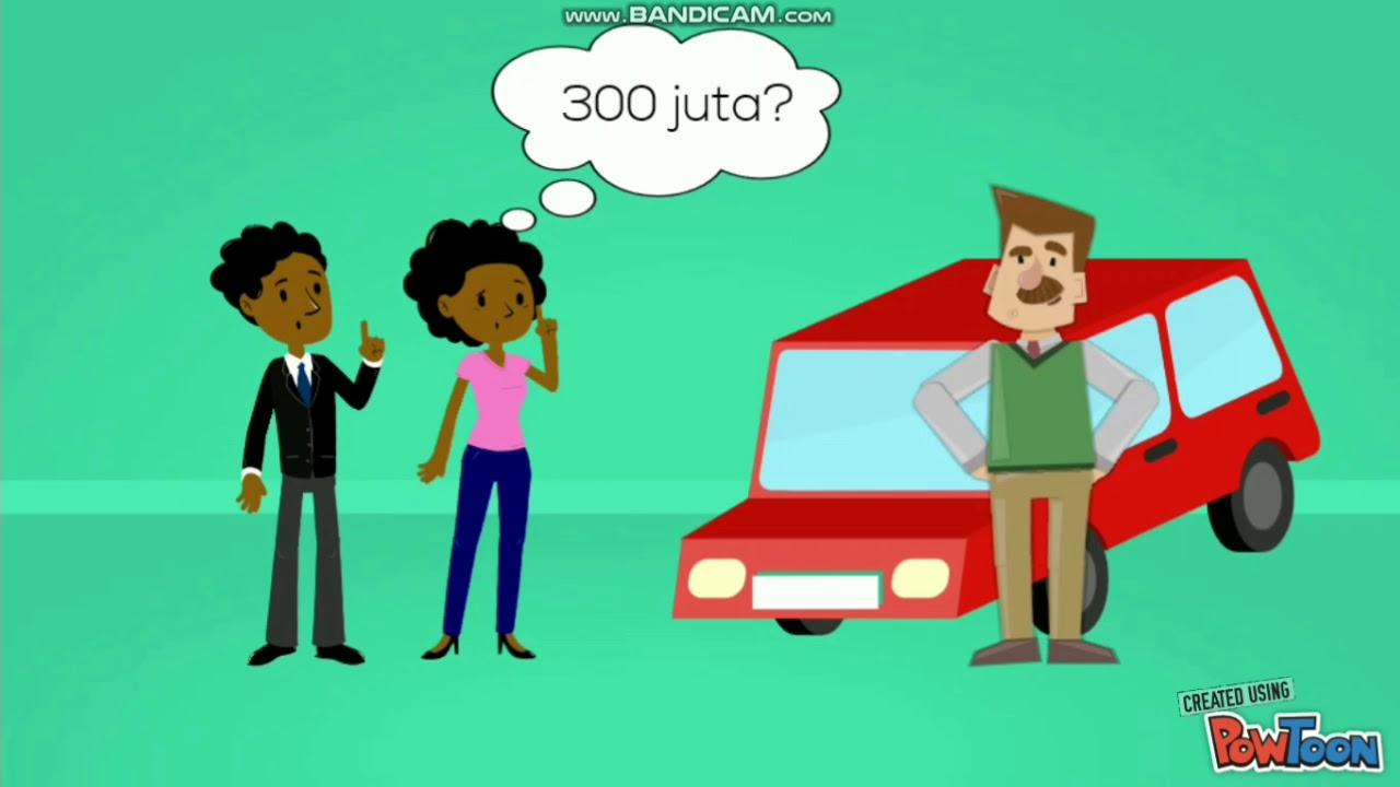 Animasi Negosiasi Mobil Bekas