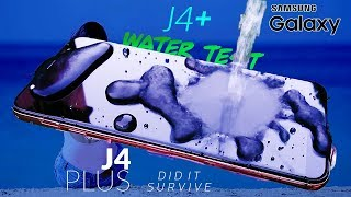 Samsung Galaxy J4 Plus WATER TEST