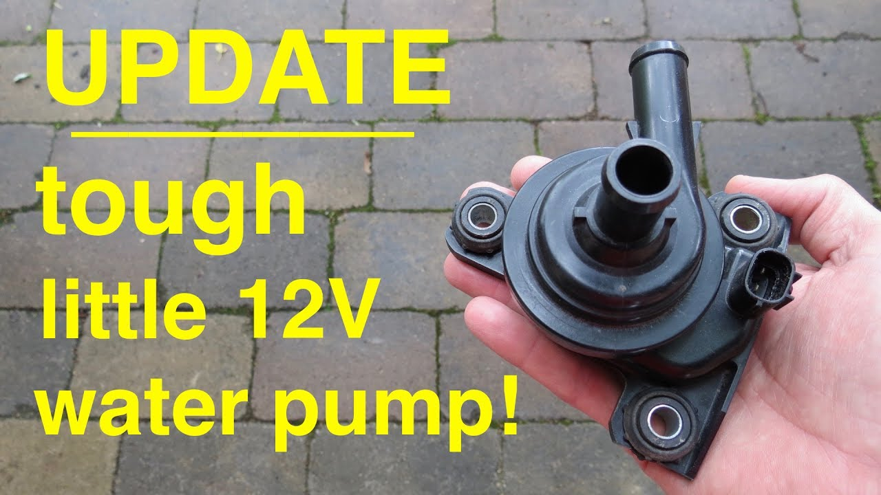Update Tough Little 12volt Water Pump From A Toyota Prius
