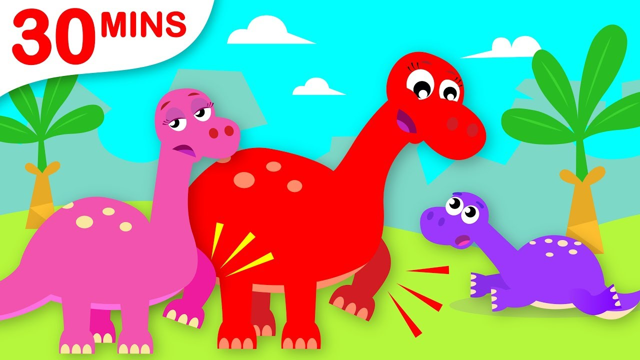 Baby Dinosaur Learns The Dinosaur Stomp Paw Patrol Chase