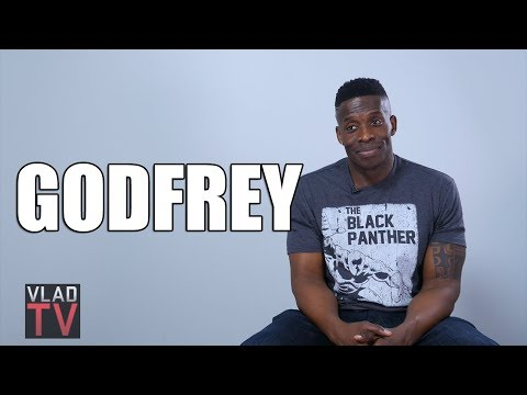 Godfrey on Black Panther, Mo'Nique, 2Pac, Nas vs Kendrick (Full Interview)