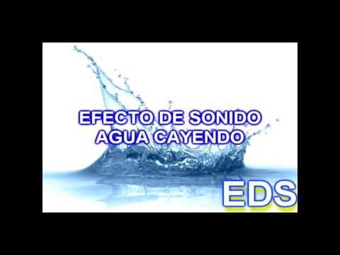Efecto de Sonido - Agua cayendo