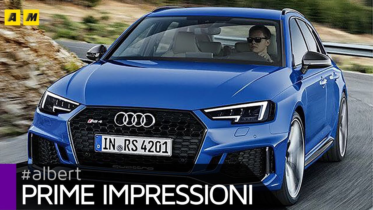 Audi RS Avant Cv Per Papà Super Veloci ENGLISH SUB - Audi rs4