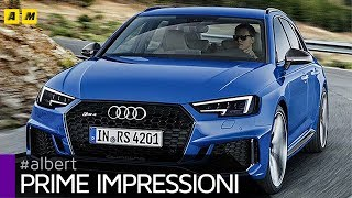 Audi RS4 Avant 2018 | 450 cv per papà super veloci [ENGLISH SUB]