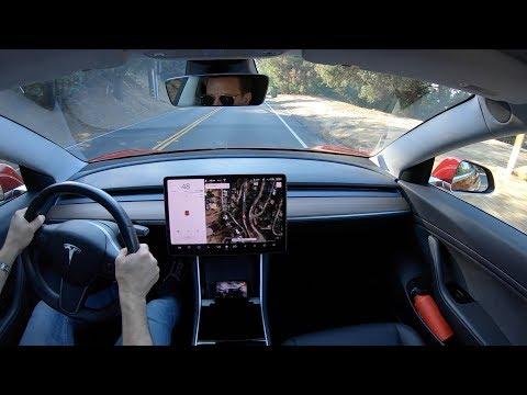 Tesla Model 3 V9 Software