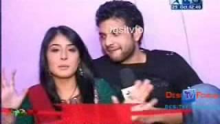 Kritika Kamra B'day 2009 On SBS with Karan Kundra