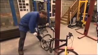 Formas de robo de bicis. TODO DISPOSITIVO DE SEGURIDAD SE ROMPE.