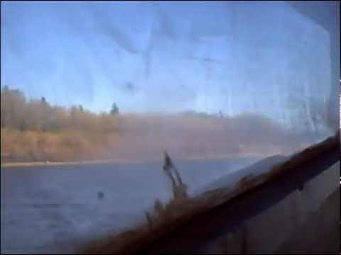 Water taxi going to Moose Factory Island October 2010