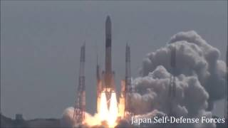 "#CHexit ""South China Sea"" Launch of Japanese H-IIA Rocket carrying the IGS Spy Satellite."
