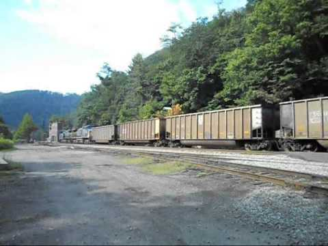 Railfanning Thurmond, West Virginia